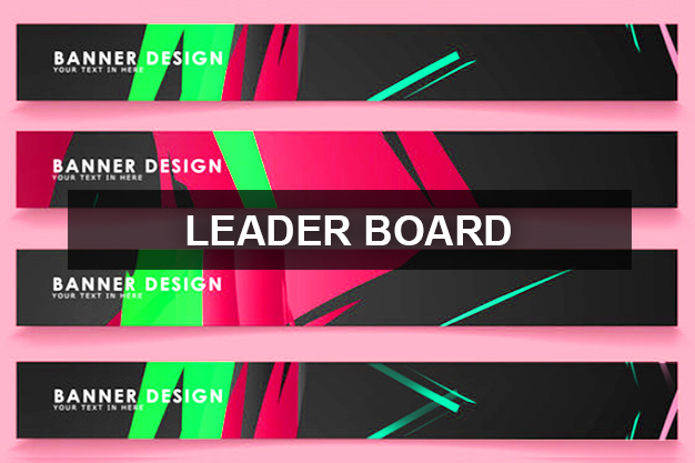 Web Banners – Leaderboard