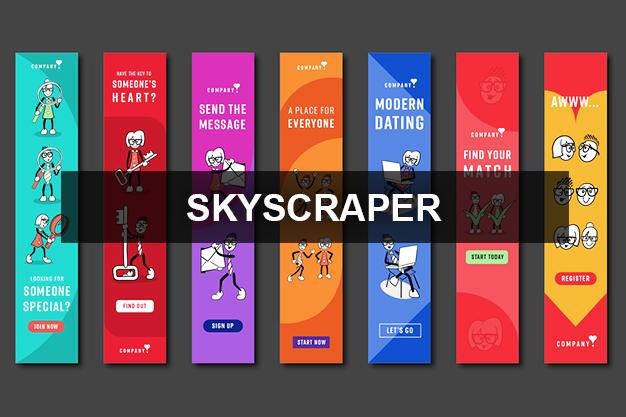 Web Banners – Skyscraper